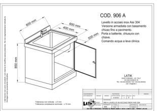 lavello-acciaio-inox-chiuso-finoapavimento-porta-battente-chiave-leva-clinica-906A
