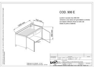 lavello-acciaio-inox-porte-battente-sgocciolatoio-sinistra-906E