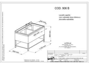 lavello-aperto-acciaio-inox-lavabo-906B