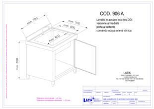 lavello-lavabo-acciaio-inox-armadiata-porta-battente-comando-acqua-leva-clinica-906A