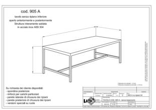 tavolo-acciaio-inox-aperto-no-ripiano-inferiore-905A