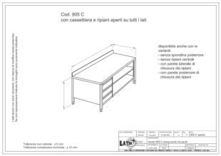 tavolo-con-cassettiera-ripiani-aperti-acciaio-inox-905C